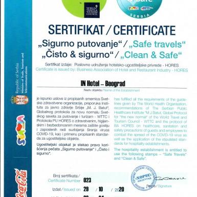 Gallery - Certificates