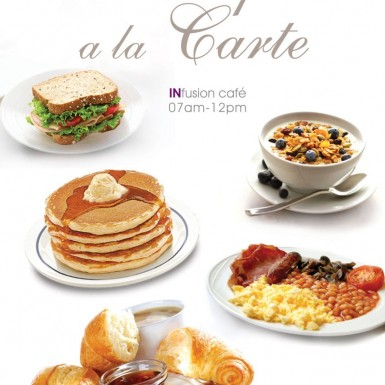 A la carte Breakfast