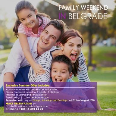 Porodični vikend u Beogradu