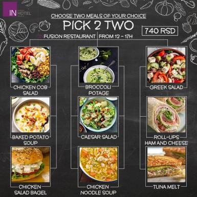 Pick -2- Two